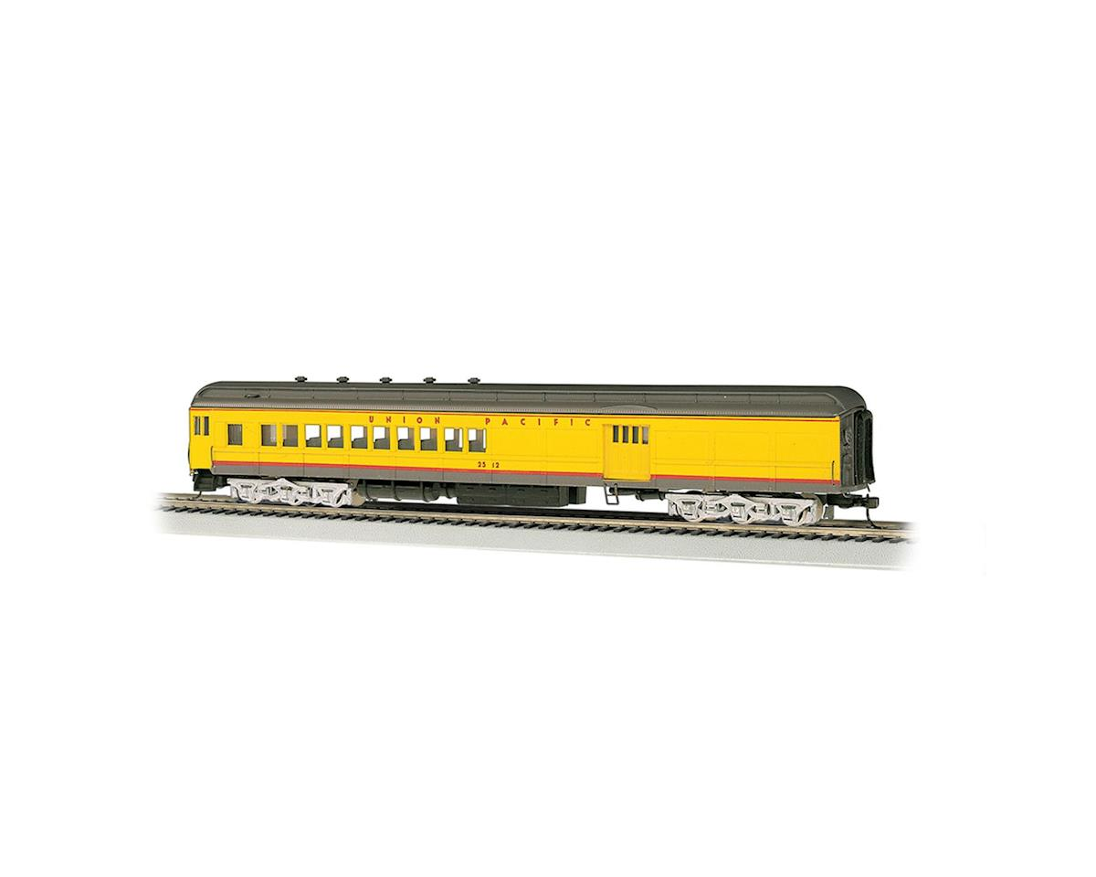 Bachmann Union Pacific #2512 w/ 4-Windows Door 72' Combine (Yellow/Grey)