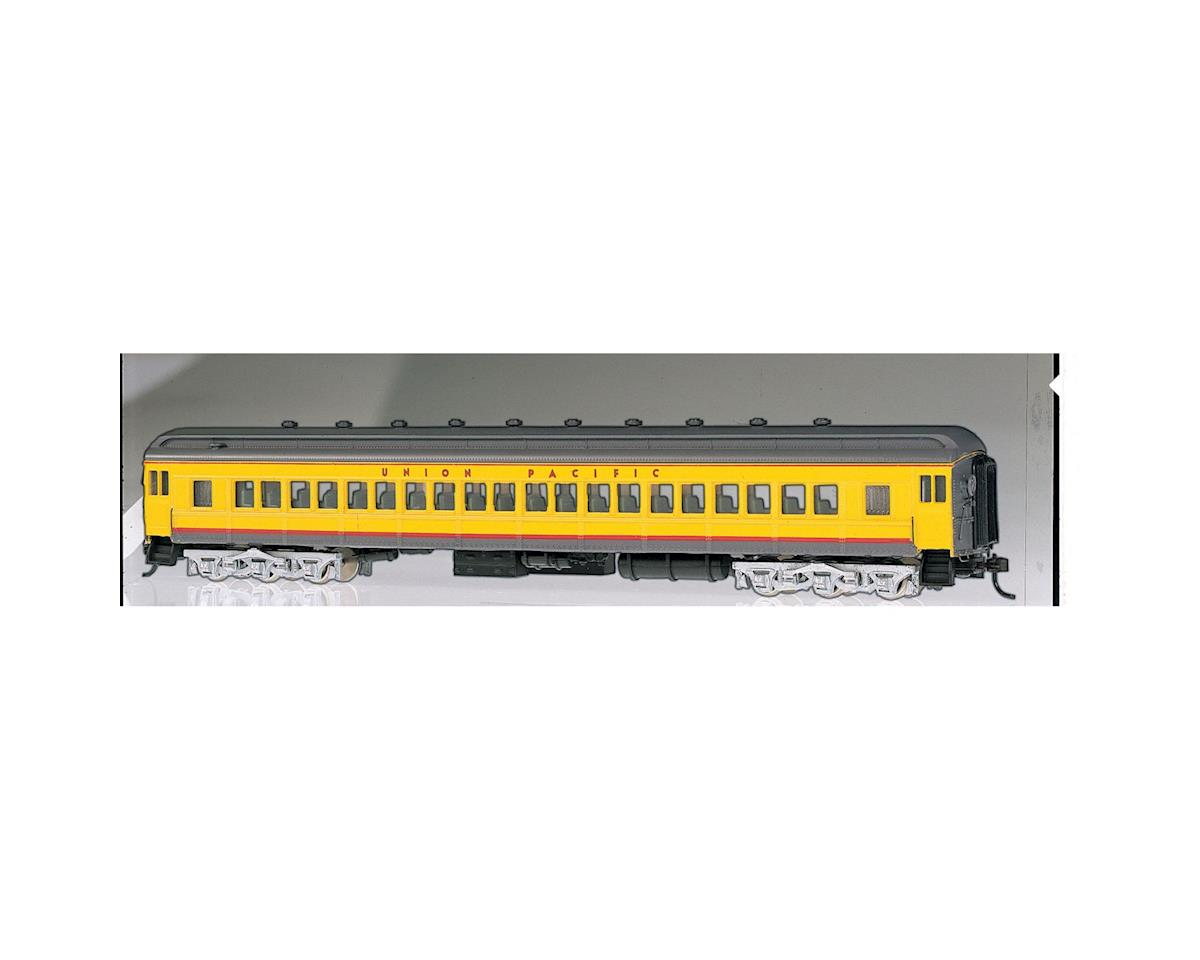 Bachmann HO 72' Heavyweight Coach, UP/Yellow/Gray/Red