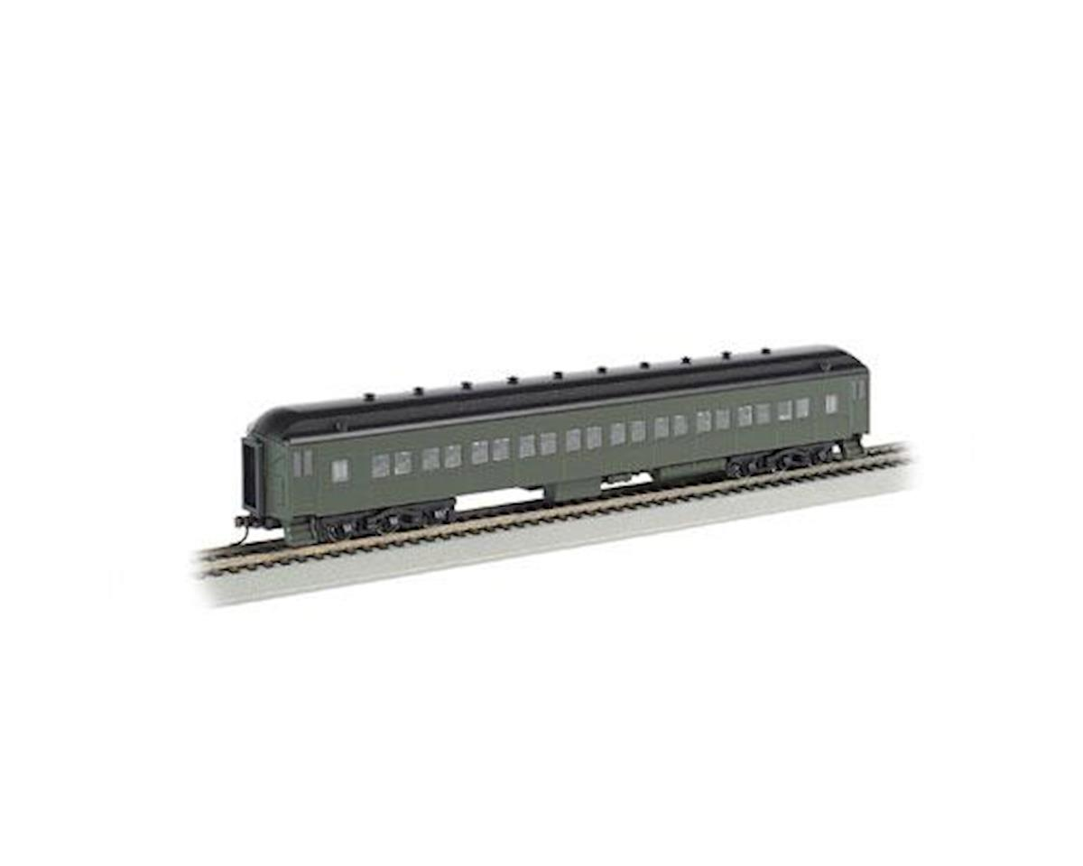 Bachmann HO 72' Heavyweight Coach, Undecorated/Green