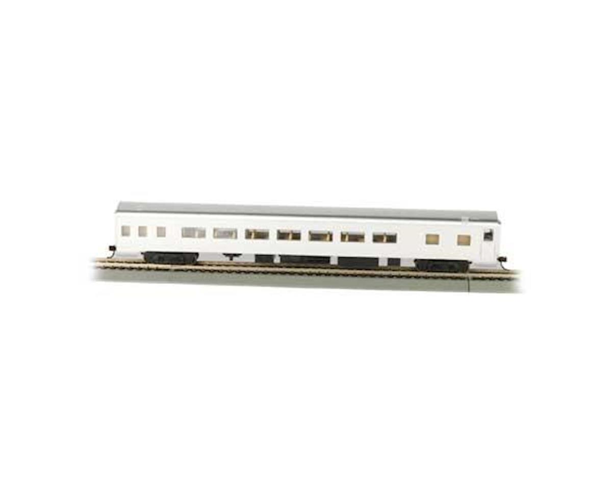 HO 85' Smooth Side Coach, Undecorated/Aluminum by Bachmann