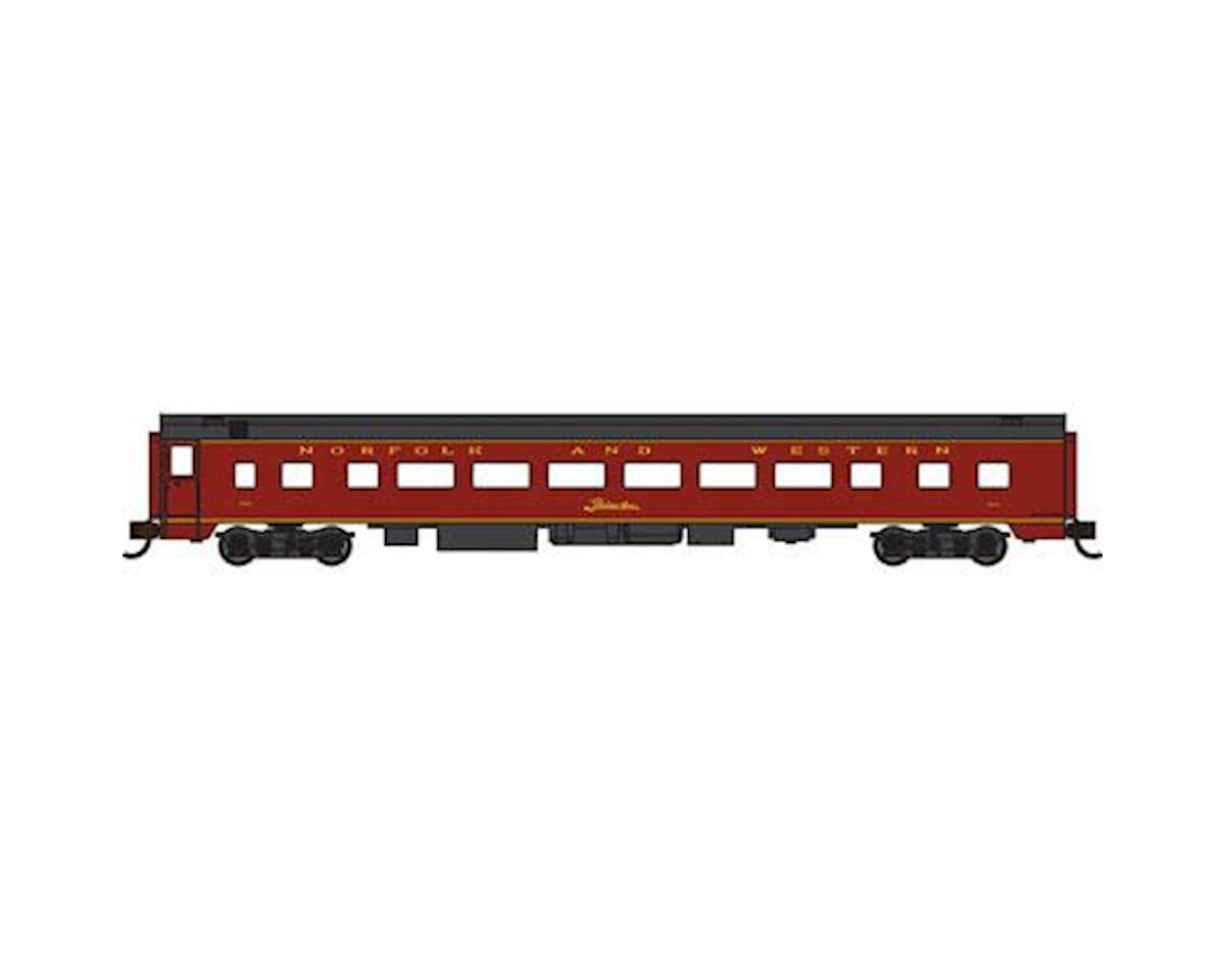 N 85' Smooth Side Coach, N&W by Bachmann