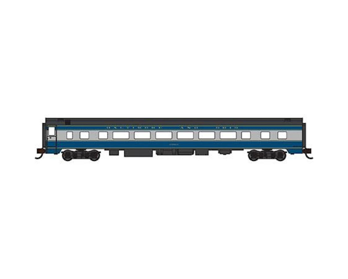 Bachmann N 85' Smooth Side Coach, B&O