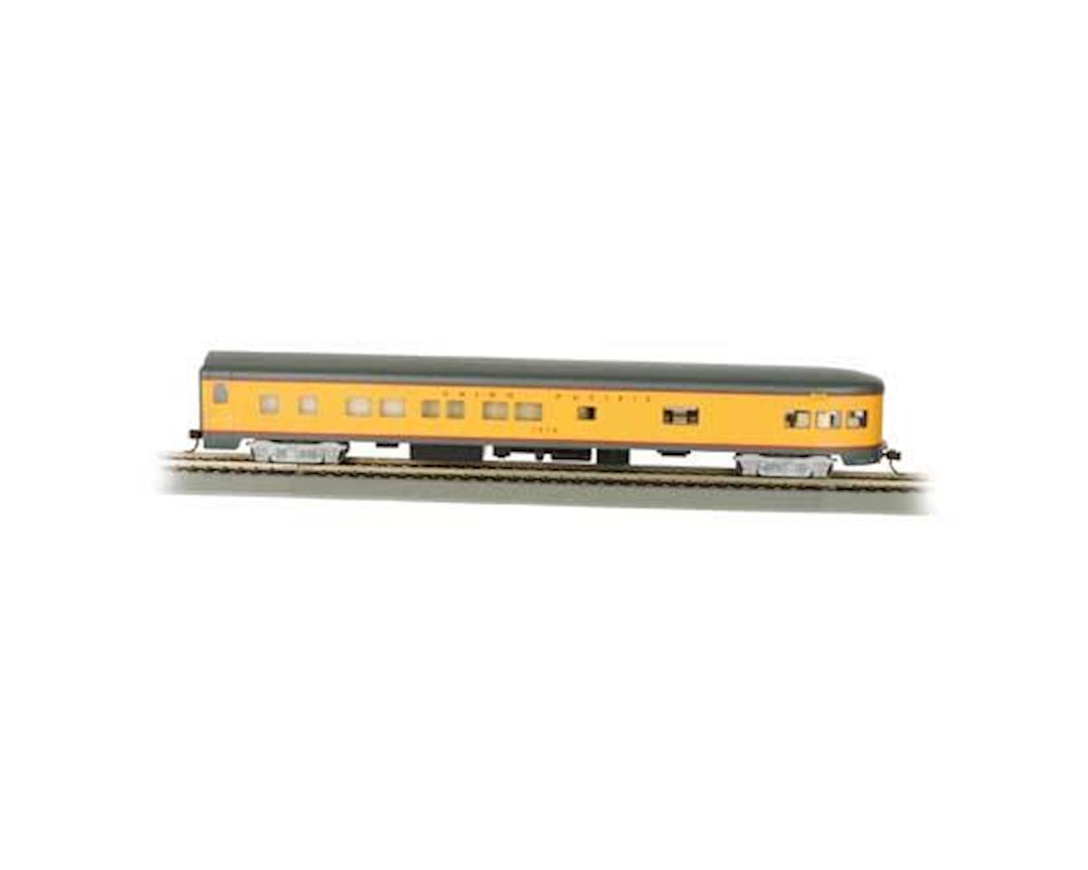 HO 85' Smooth Side Observation Car, UP by Bachmann