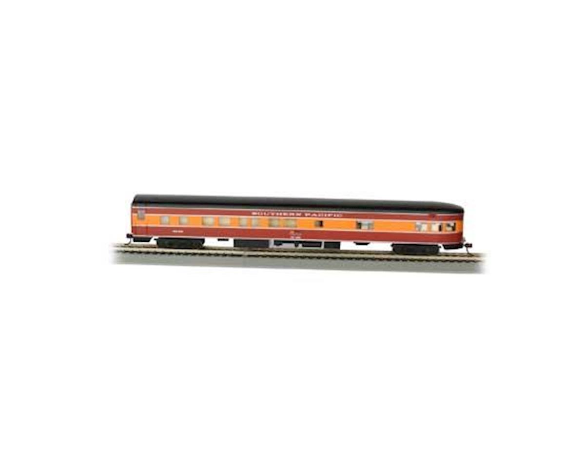 Bachmann HO 85' Smooth Side Observation Car, SP/Daylight