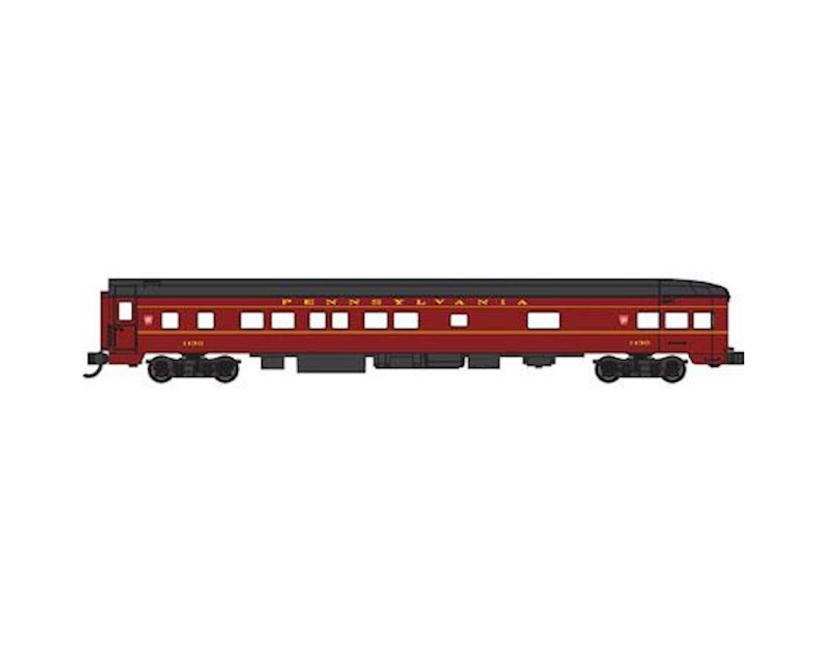 Bachmann N 85' Smooth Side Observation Car, PRR