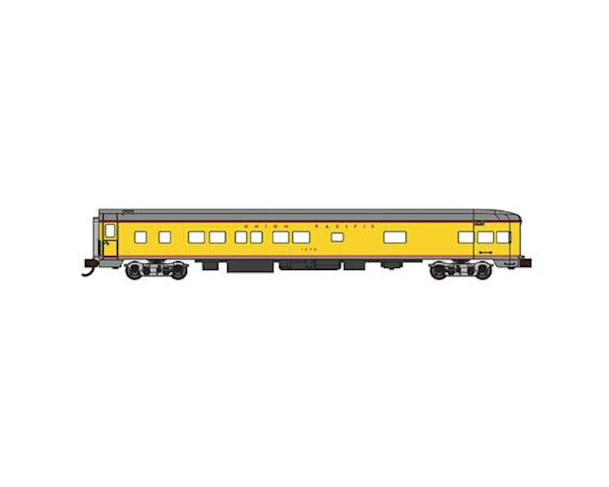 N 85' Smooth Side Observation Car, UP by Bachmann