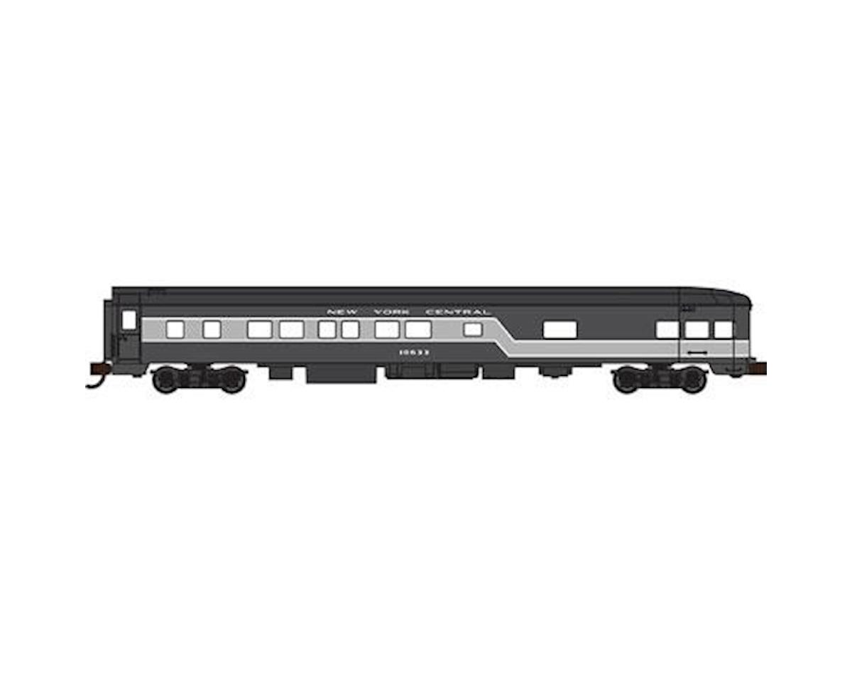 Bachmann New York Central 85' Smooth-Side Observation Car (N Scale)