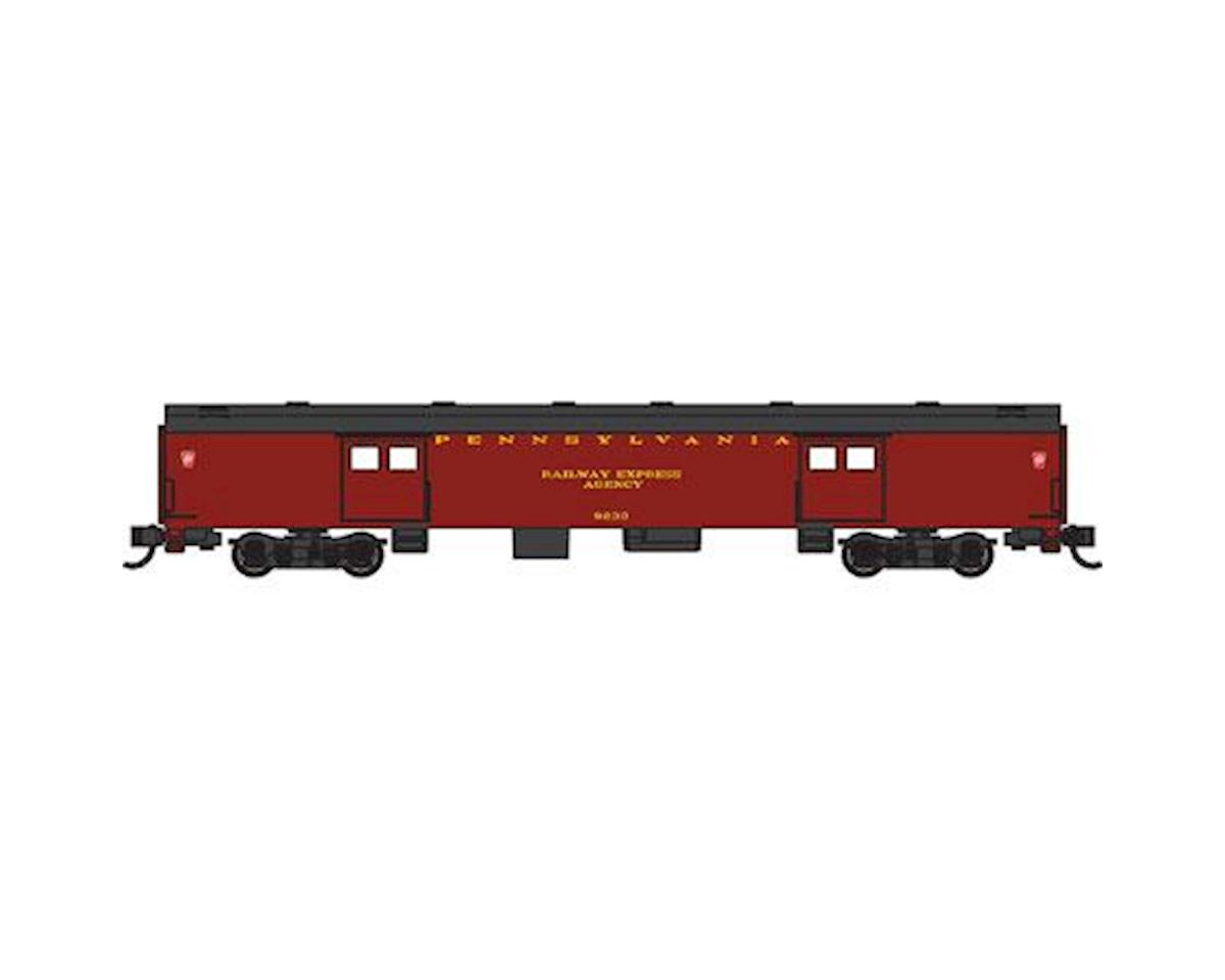 Bachmann N 72' Smooth Side Baggage Car, PRR