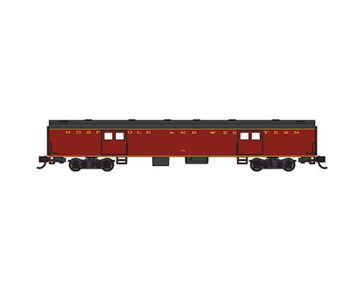 Bachmann N 72' Smooth Side Baggage Car, N&W