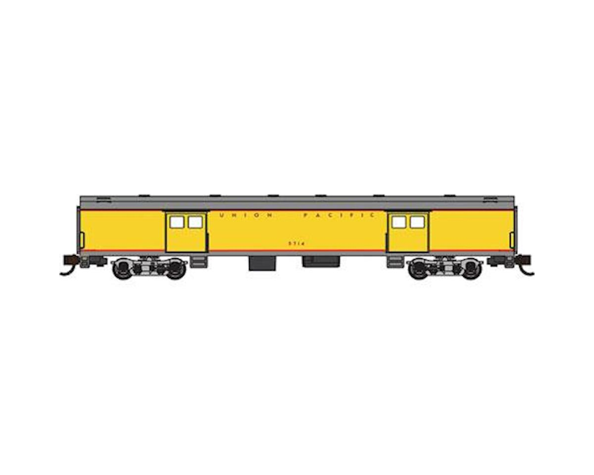 Bachmann N 72' Smooth Side Baggage Car, UP