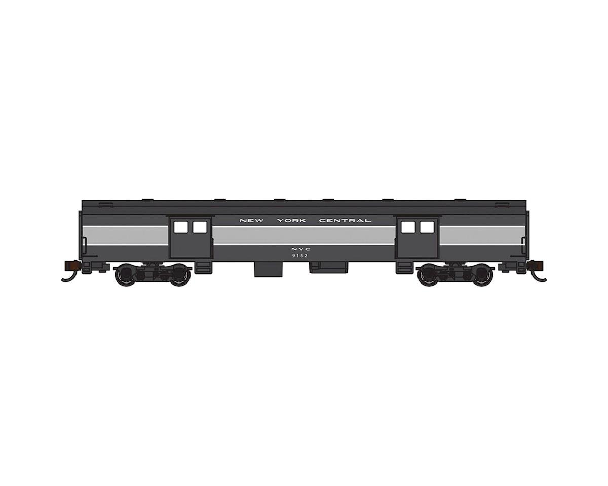 Bachmann Industries Smooth Side New York Central N-Scale Baggage Car 72