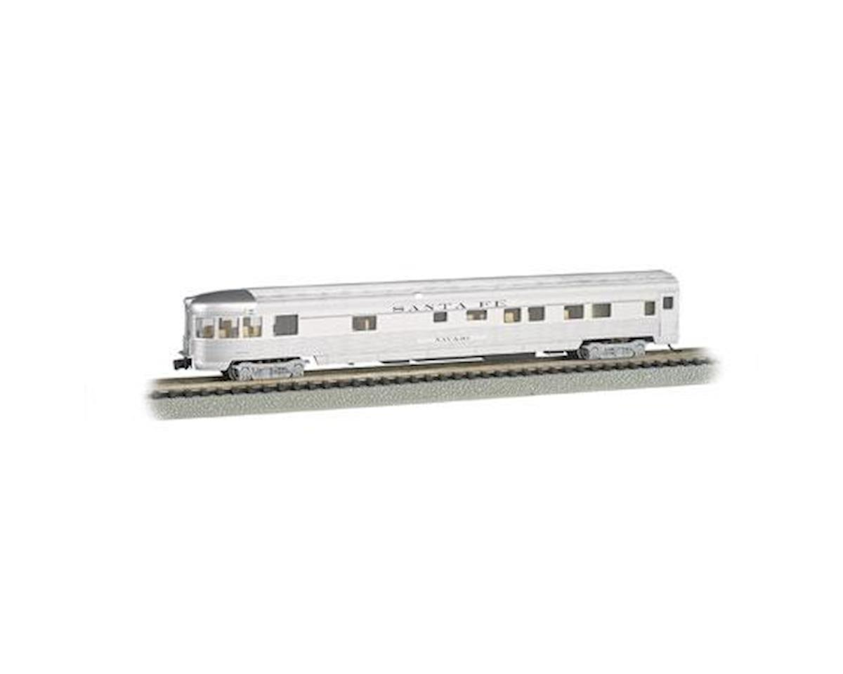 Bachmann N 85' Fluted Streamline Observation w/Lighting, SF