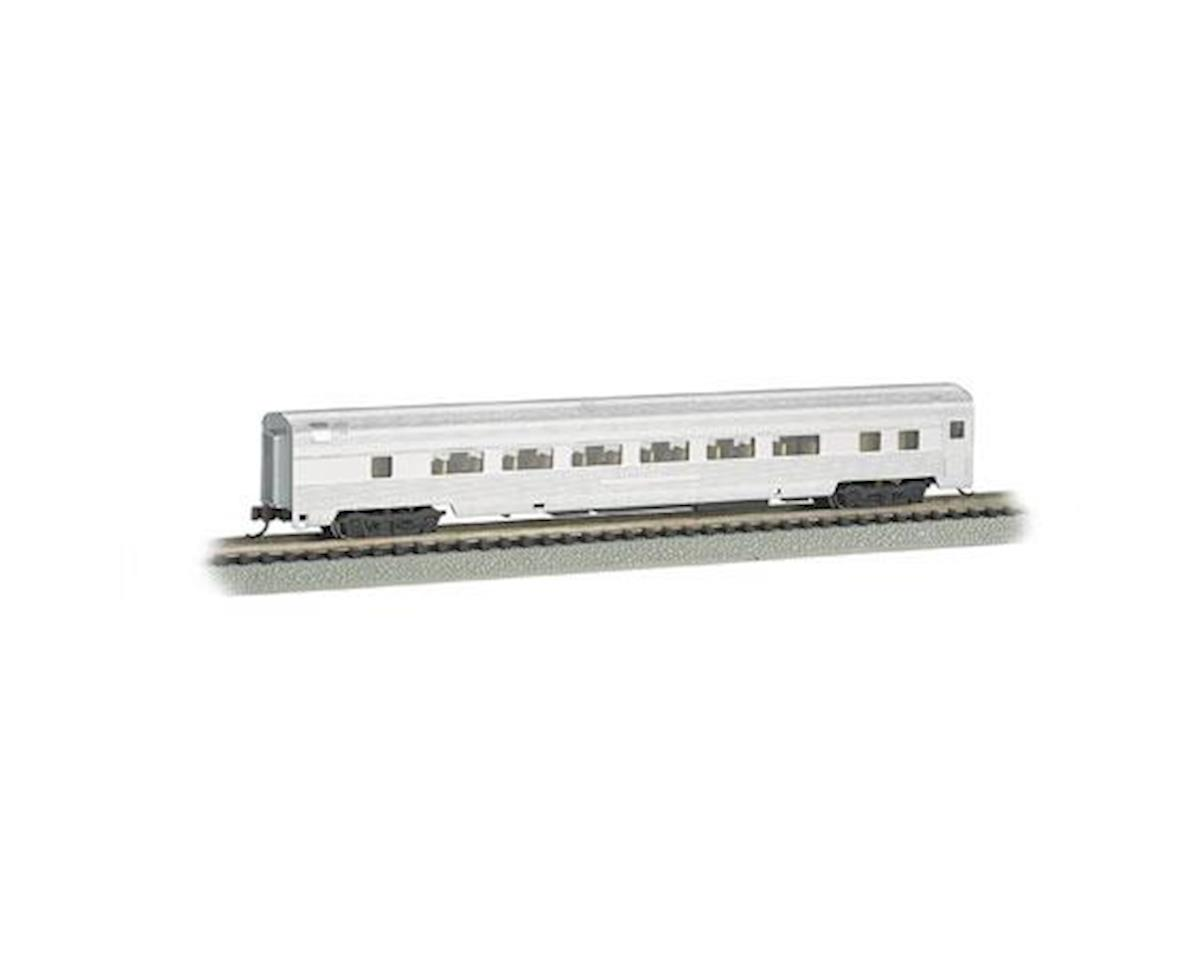 Bachmann N 85' Fluted Streamline Coach w/Lighting, Undec