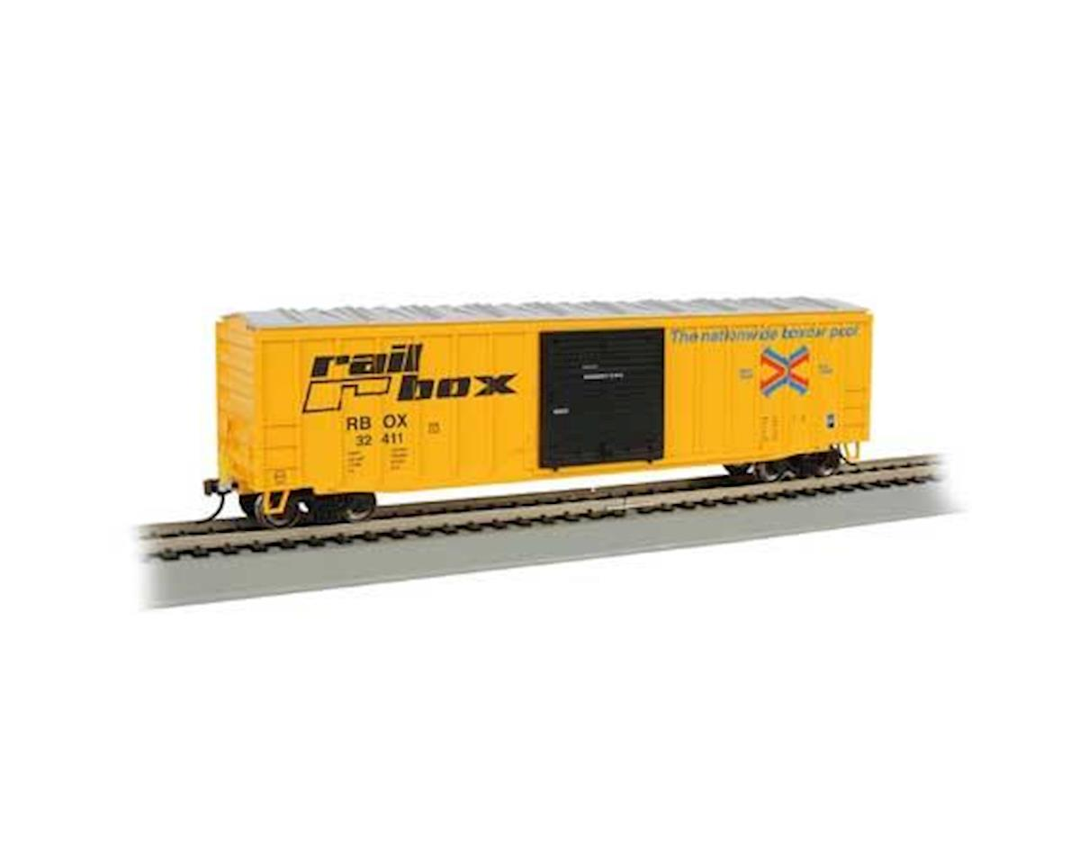 HO 50' Outside Braced Box, RBOX by Bachmann