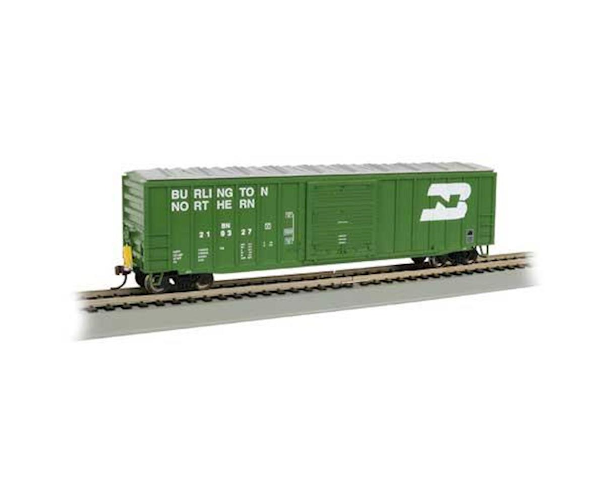 HO 50' Outside Braced Box, BN by Bachmann