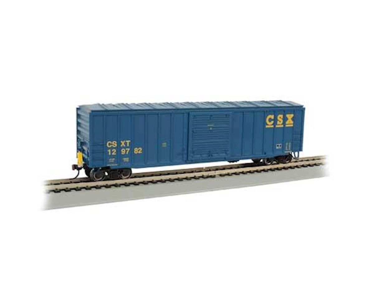 HO 50' Outside Braced Box, CSX by Bachmann