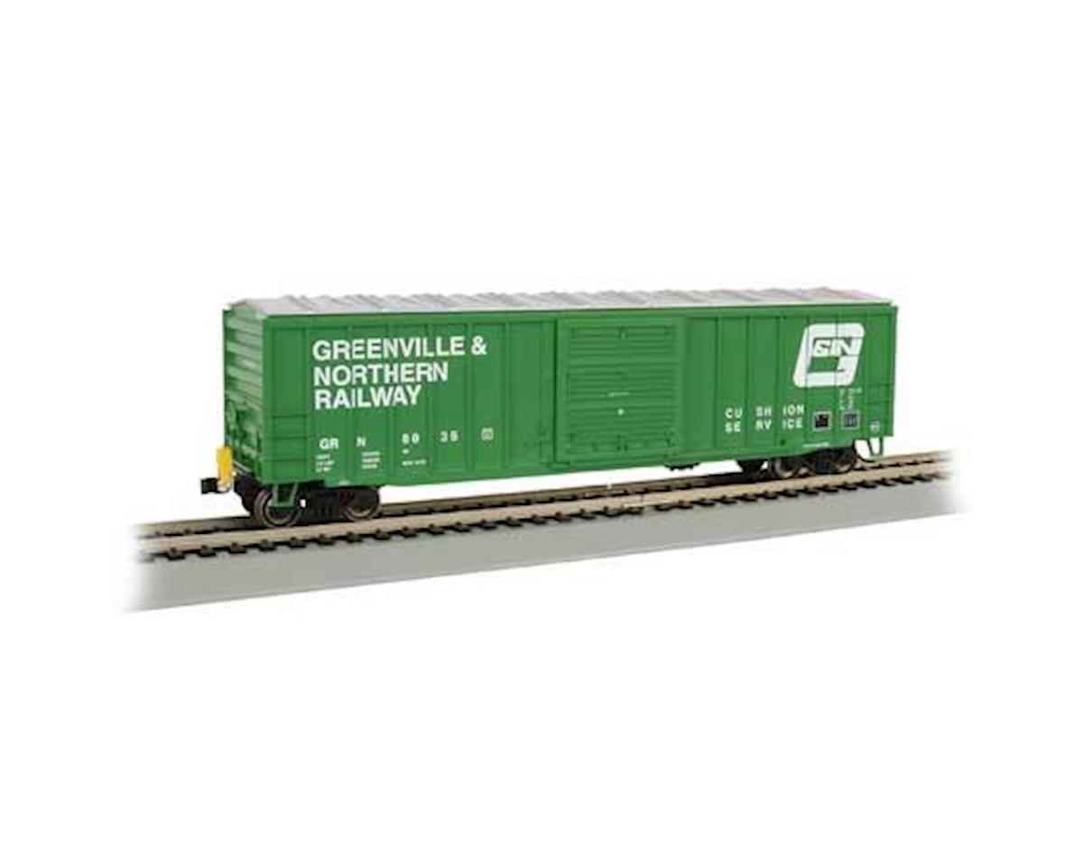 HO 50' Outside Braced Box, G&N by Bachmann