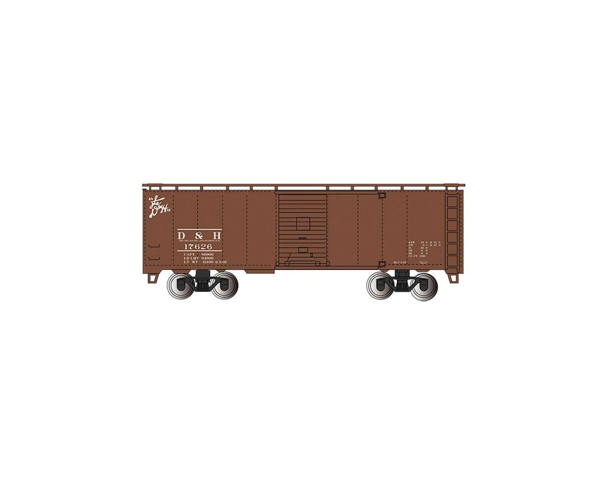 HO 40'STM DampH BOXCAR by Bachmann