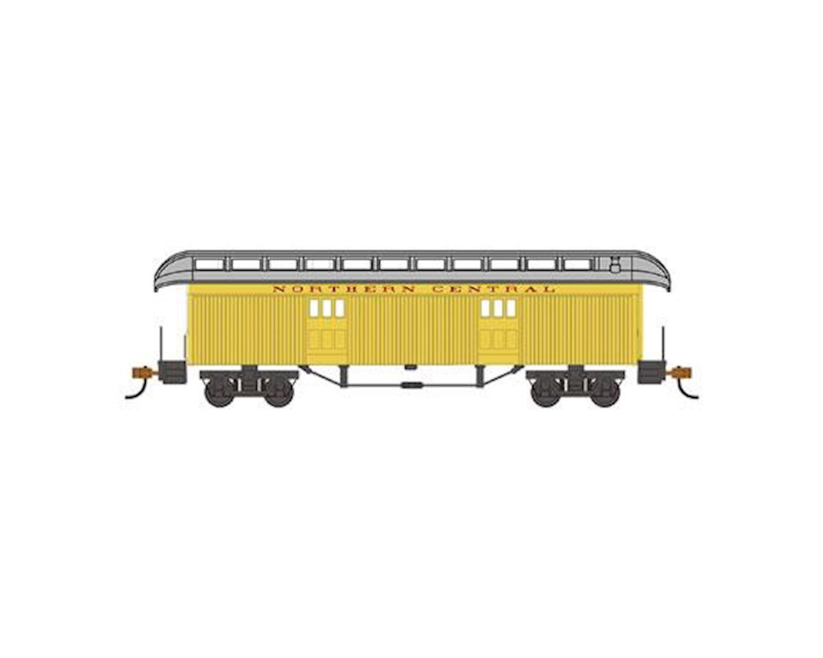 Bachmann HO Old Time Baggage Car, Northern Central Railway