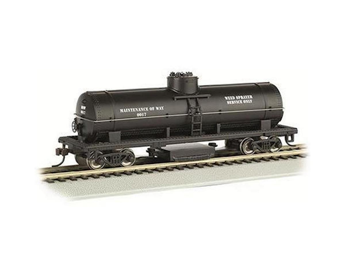 HO Track Cleaning Tank Car, MOW by Bachmann