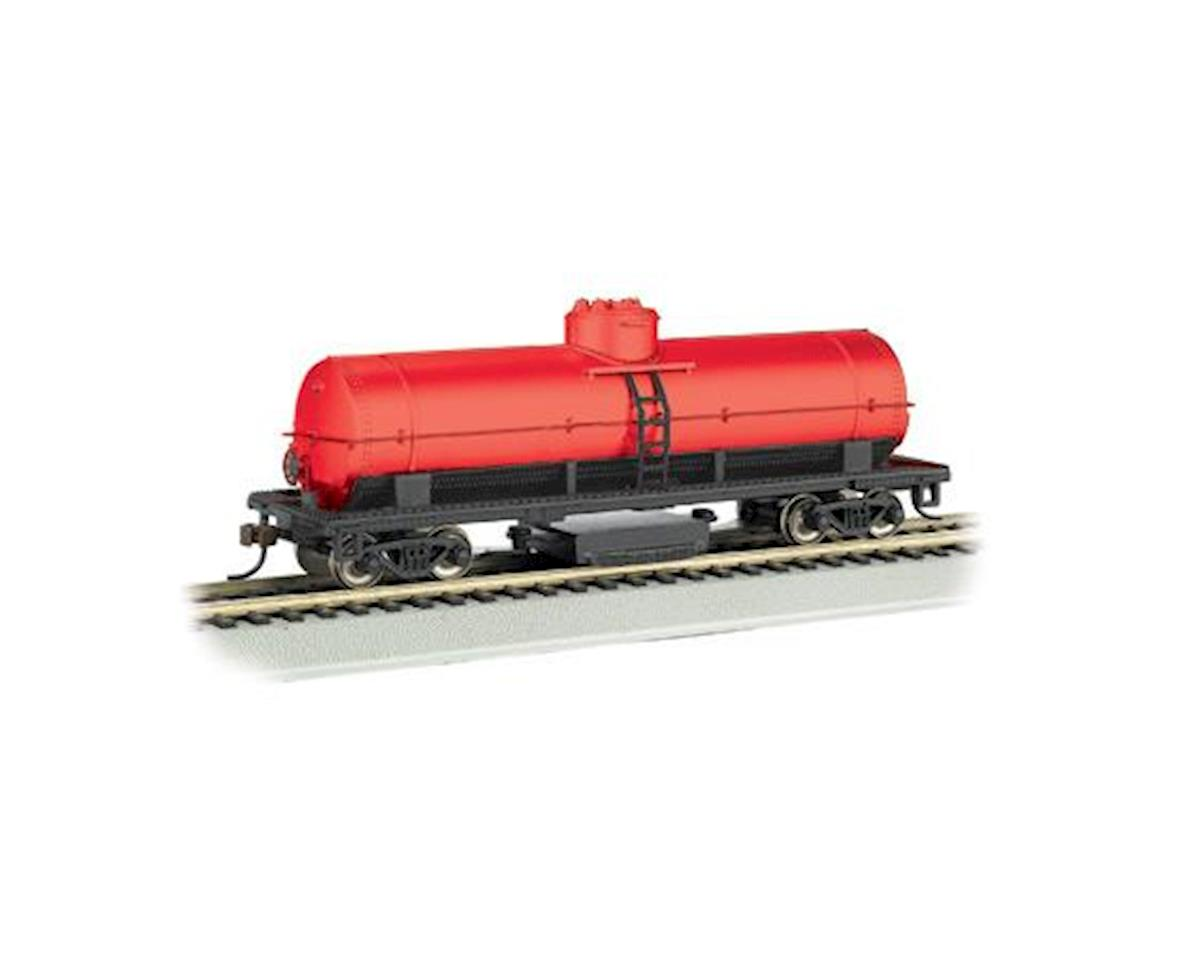 Bachmann HO Track Cleaning Tank Car, Unlettered/Oxide Red