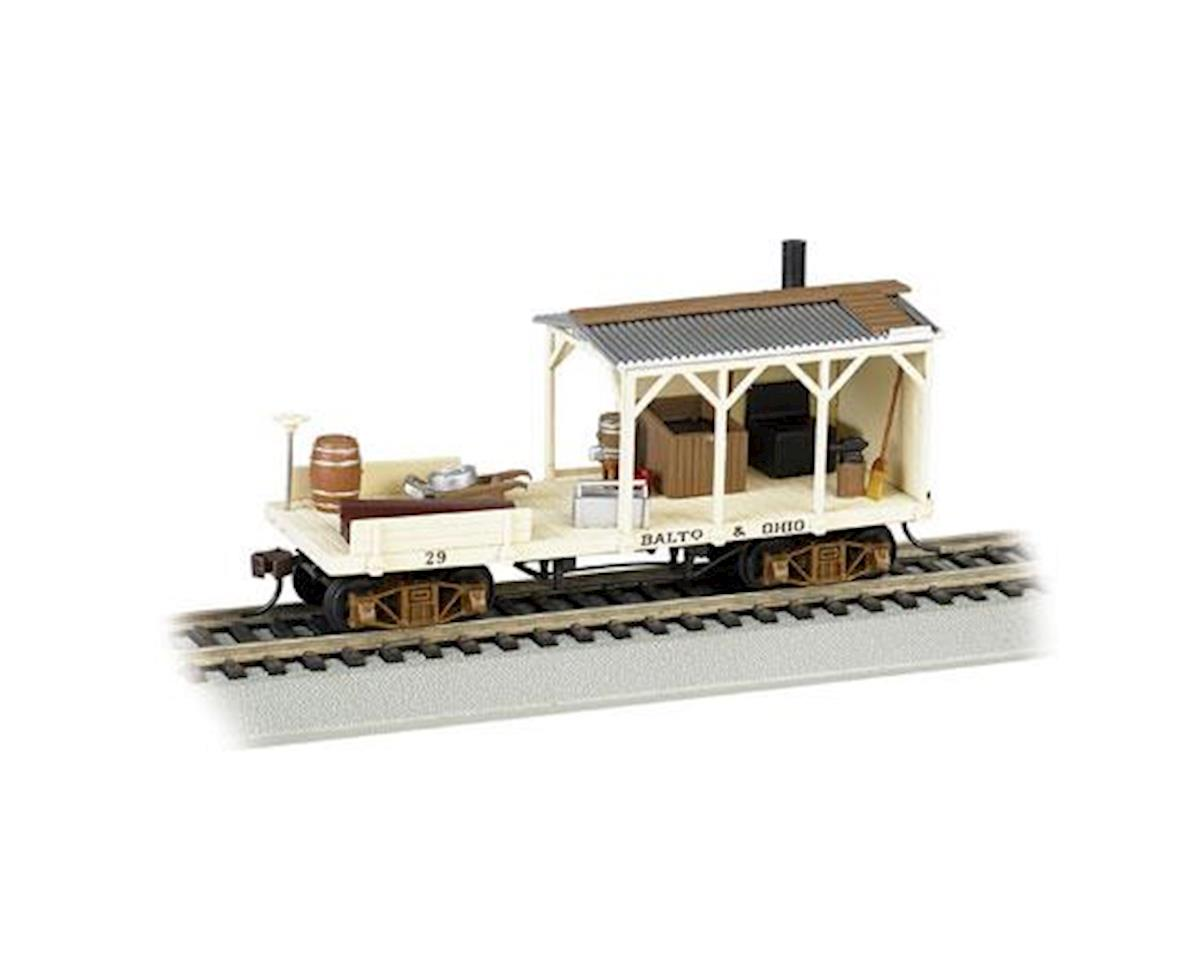 HO Old Time Blacksmith Car, B&O/MOW by Bachmann