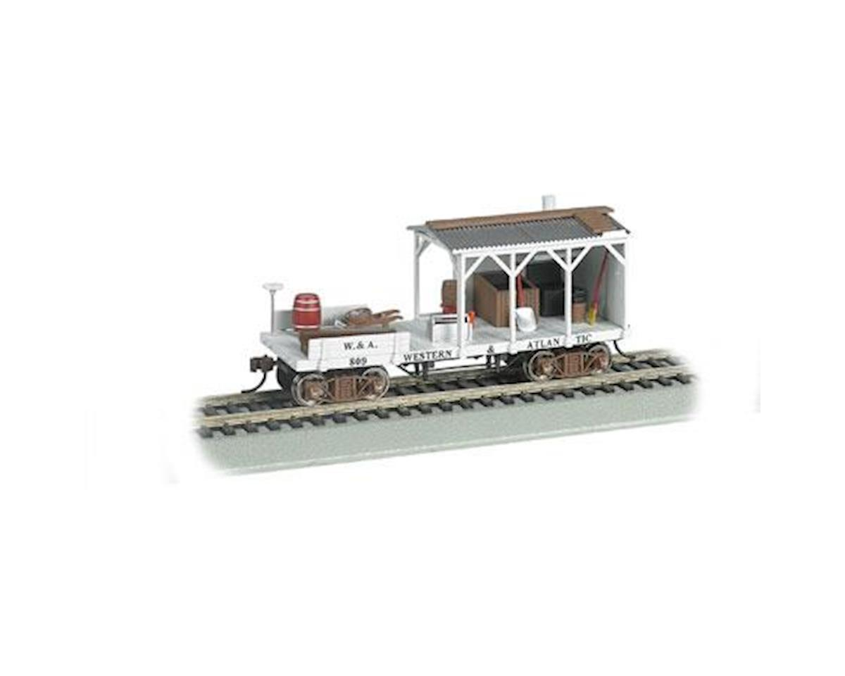 Bachmann HO Old Time Blacksmith Car, W&A/MOW