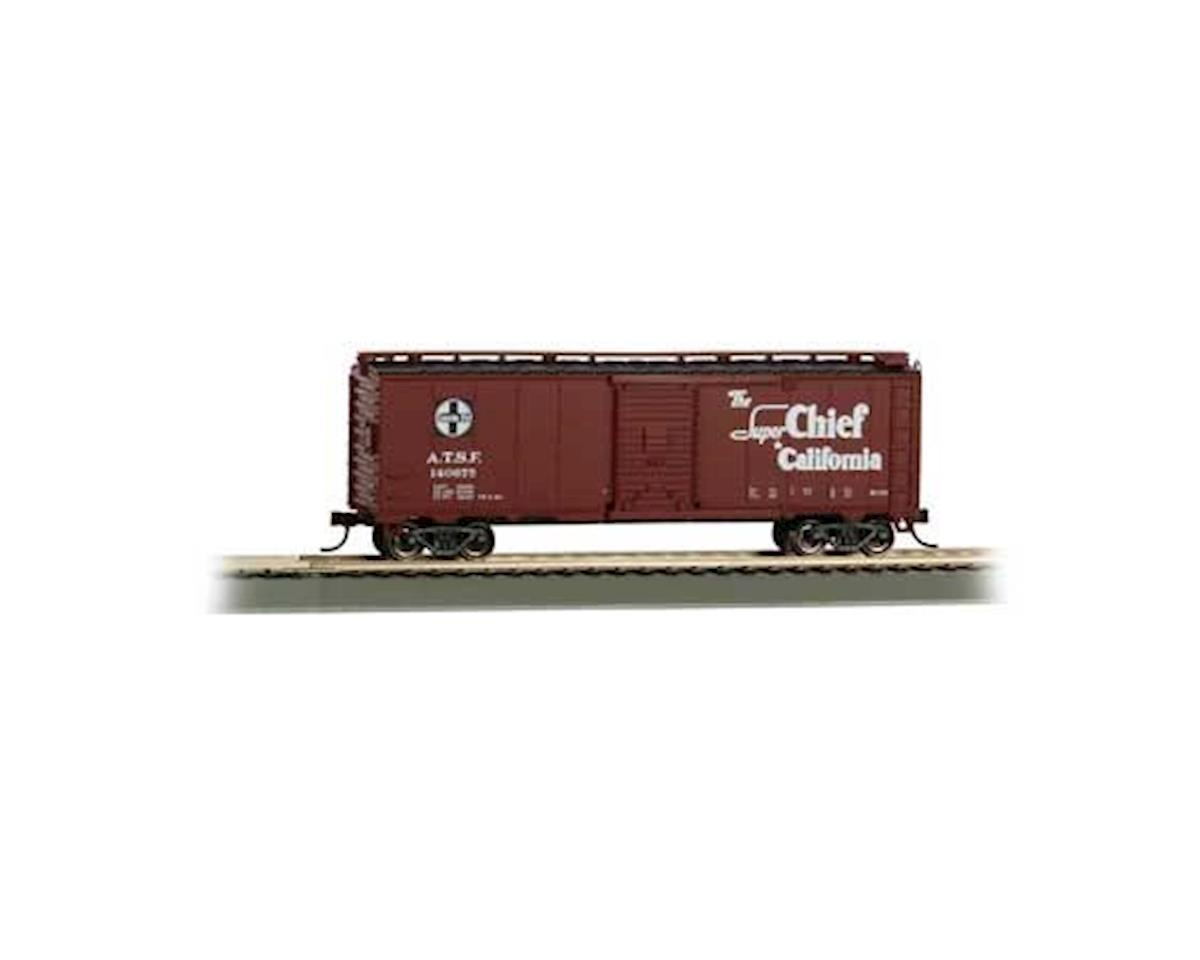 Bachmann HO 40' Map Box Car, SF/Super Chief