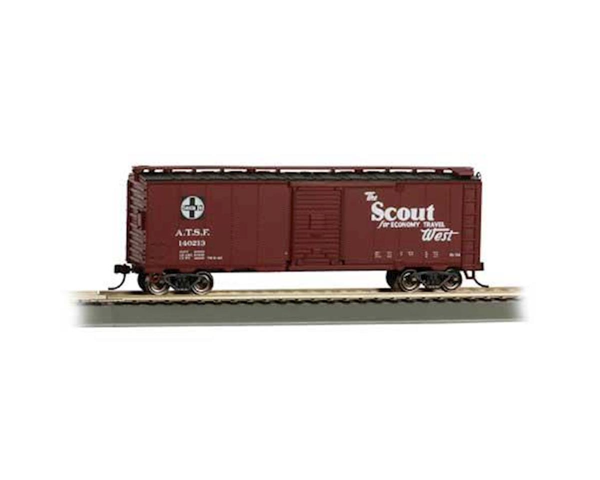 HO 40' Map Box Car, SF/Scout by Bachmann