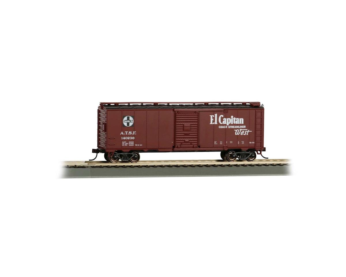 Bachmann HO 40' Map Box Car, SF/El Capitan