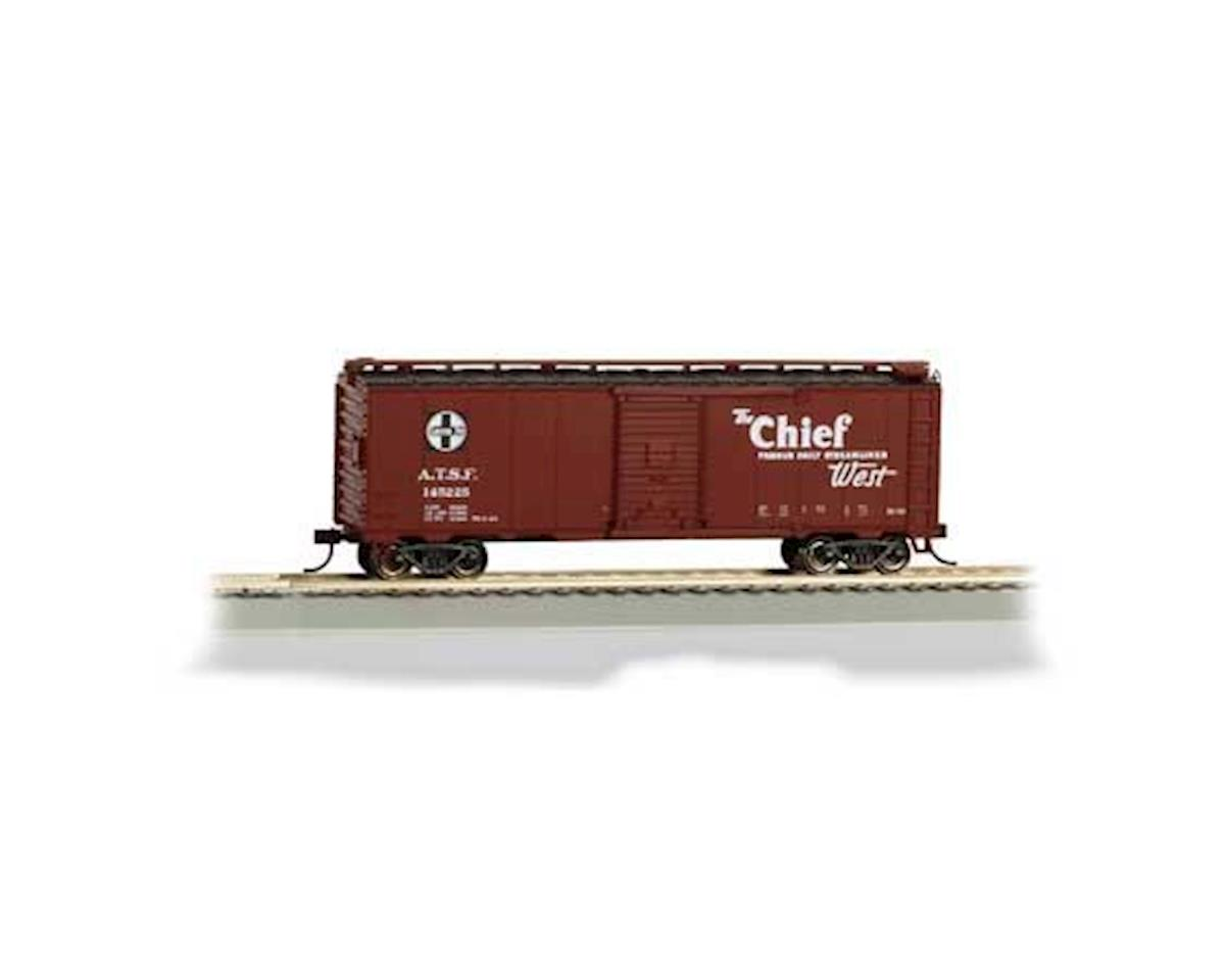 Bachmann HO 40' Map Box Car, SF/Chief