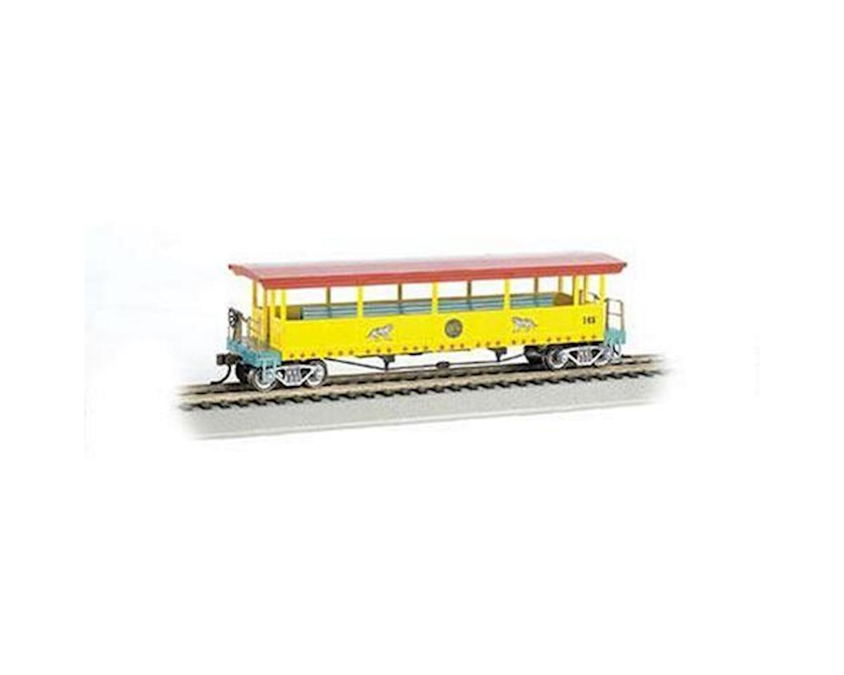 Bachmann HO Open-Sided Excursion Car w/Seats, Ringling Bros