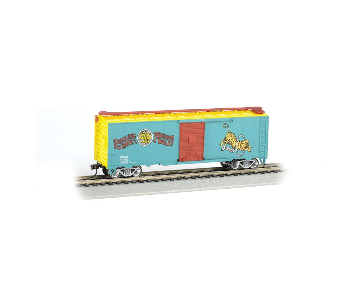 Bachmann HO PS-1 Box,Ringing Bros Barnum & Bailey/Tiger #17