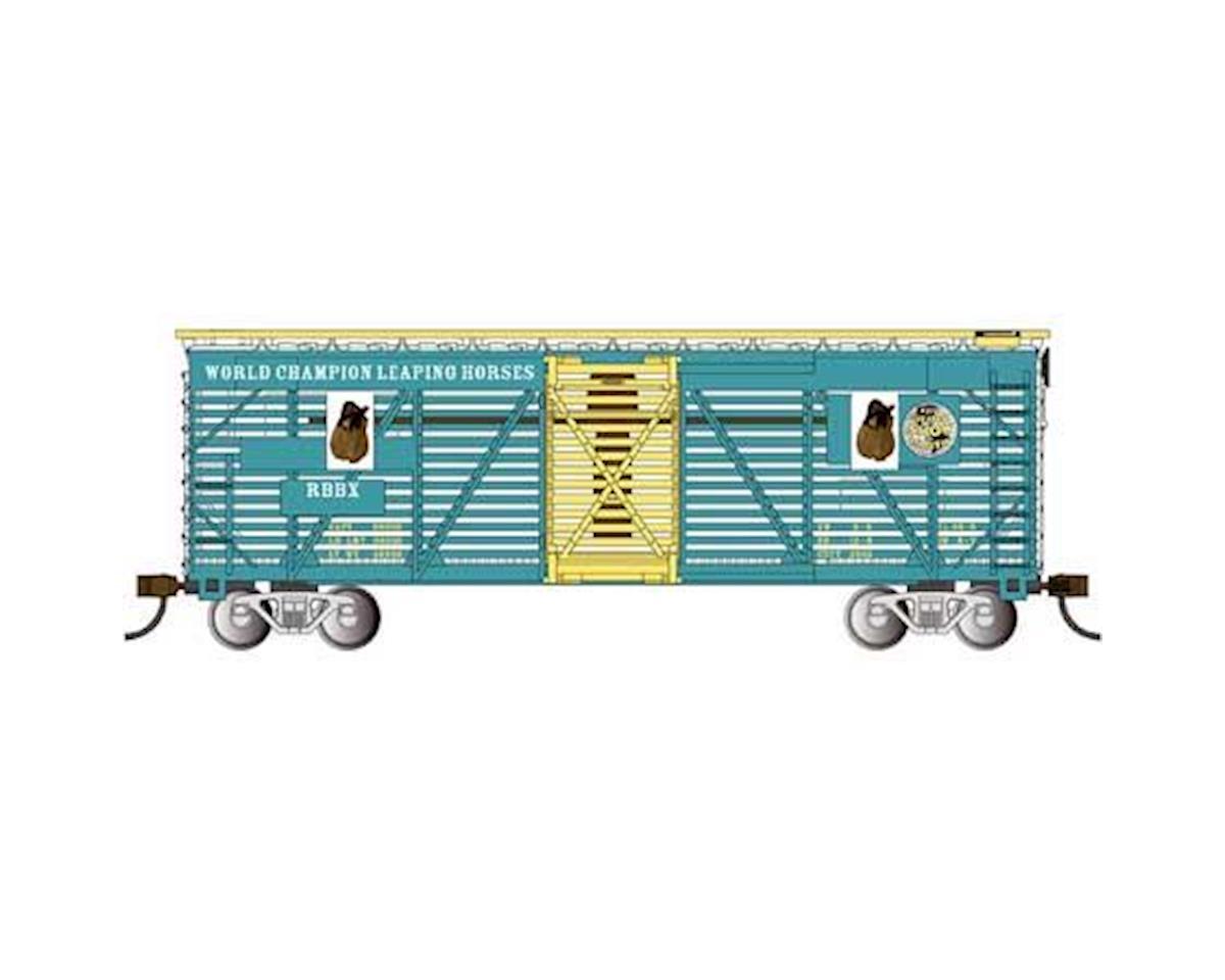 Bachmann HO Animated Stock Car, Ringling Bros/Horse