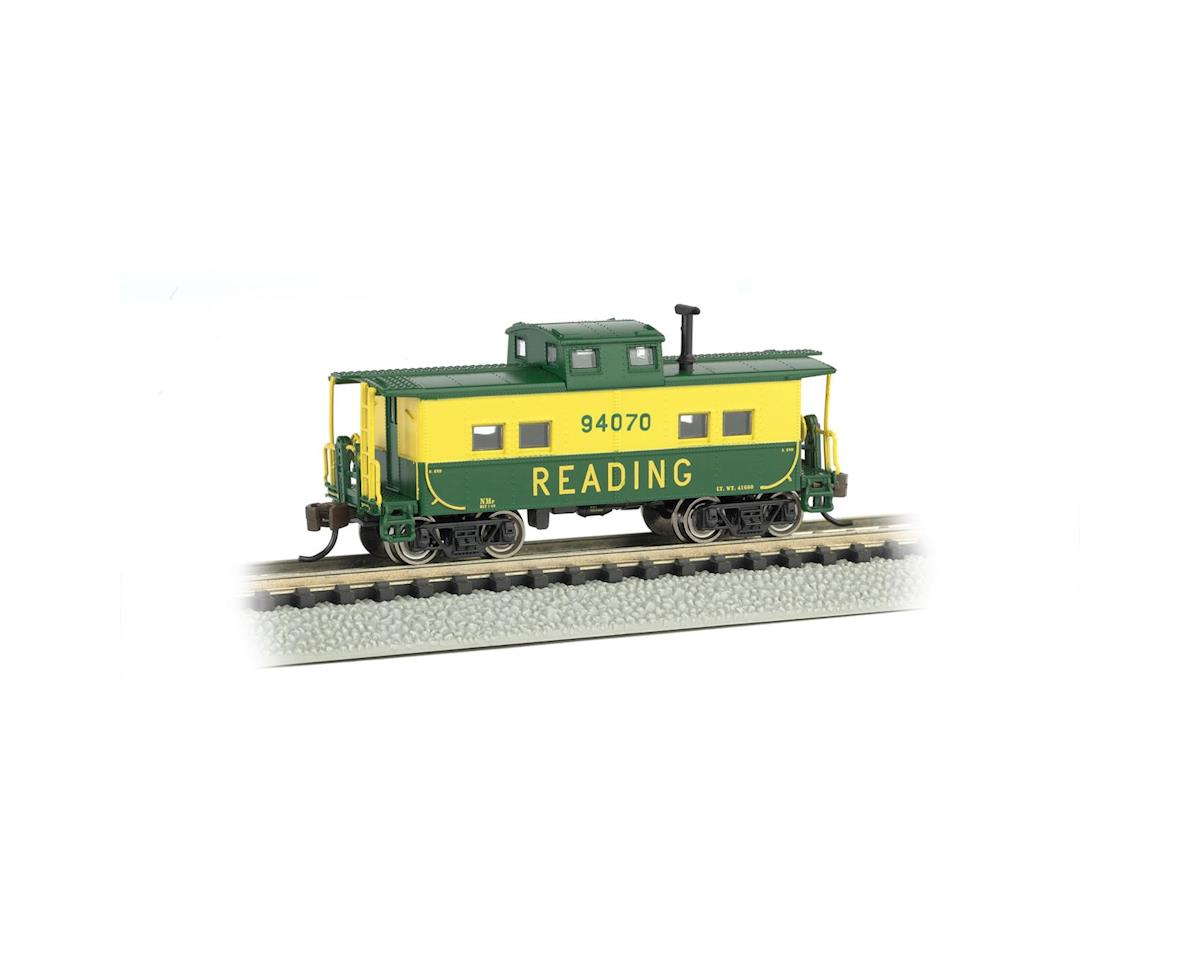 Bachmann N Northeast Steel Caboose, RDG/Green/Yellow #94070
