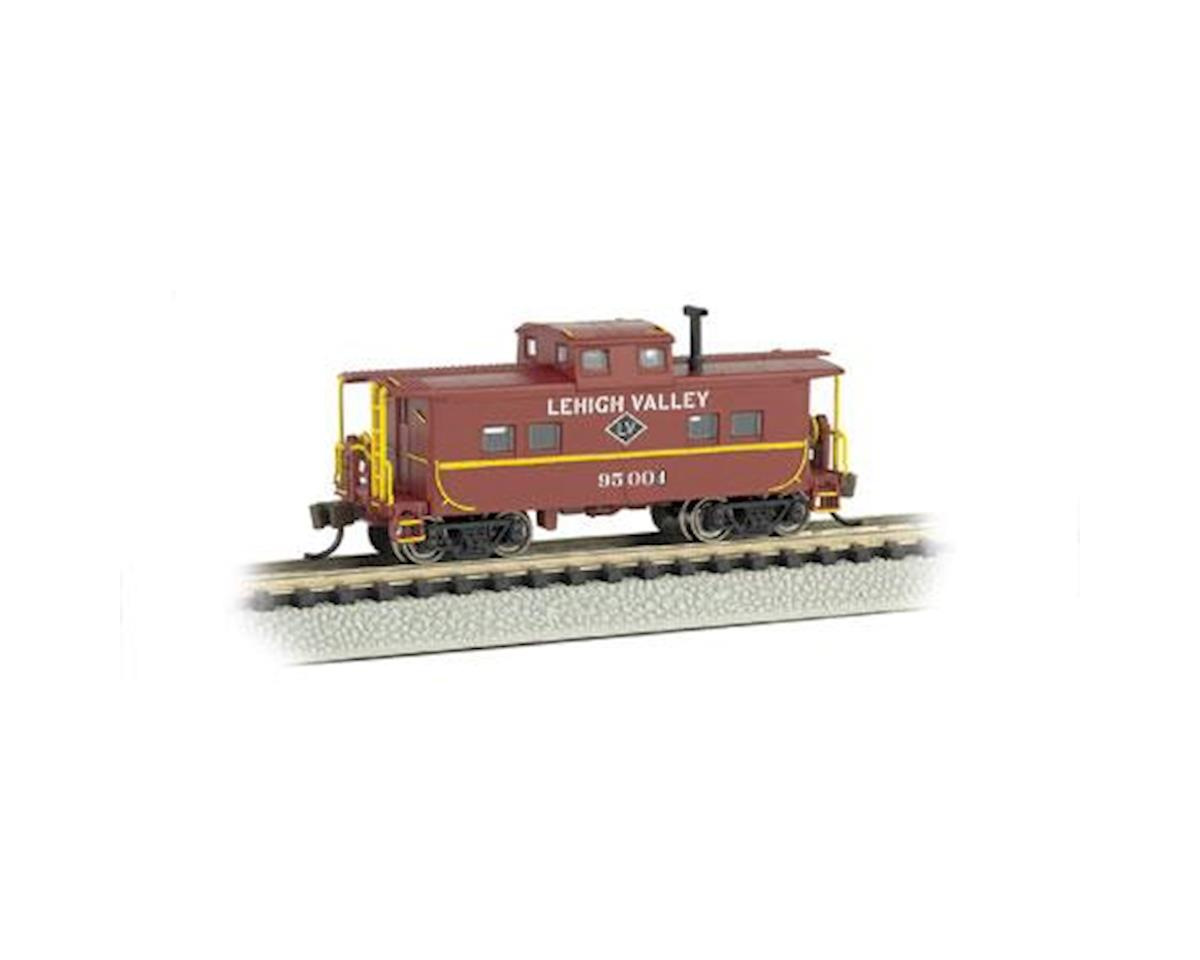 Bachmann N Northeast Steel Caboose, LV/Red #95004