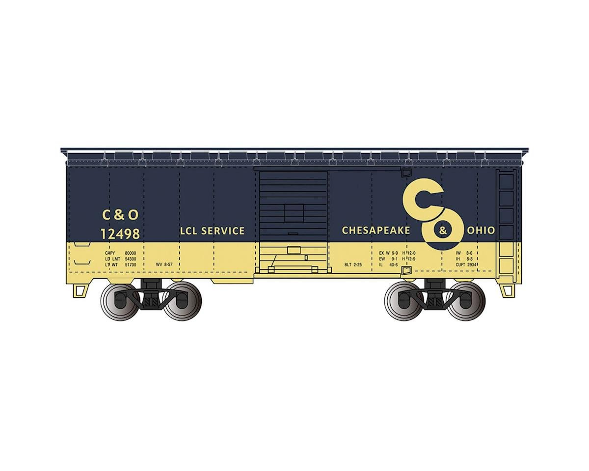 Bachmann HO 40' PS-1 Box, C&O