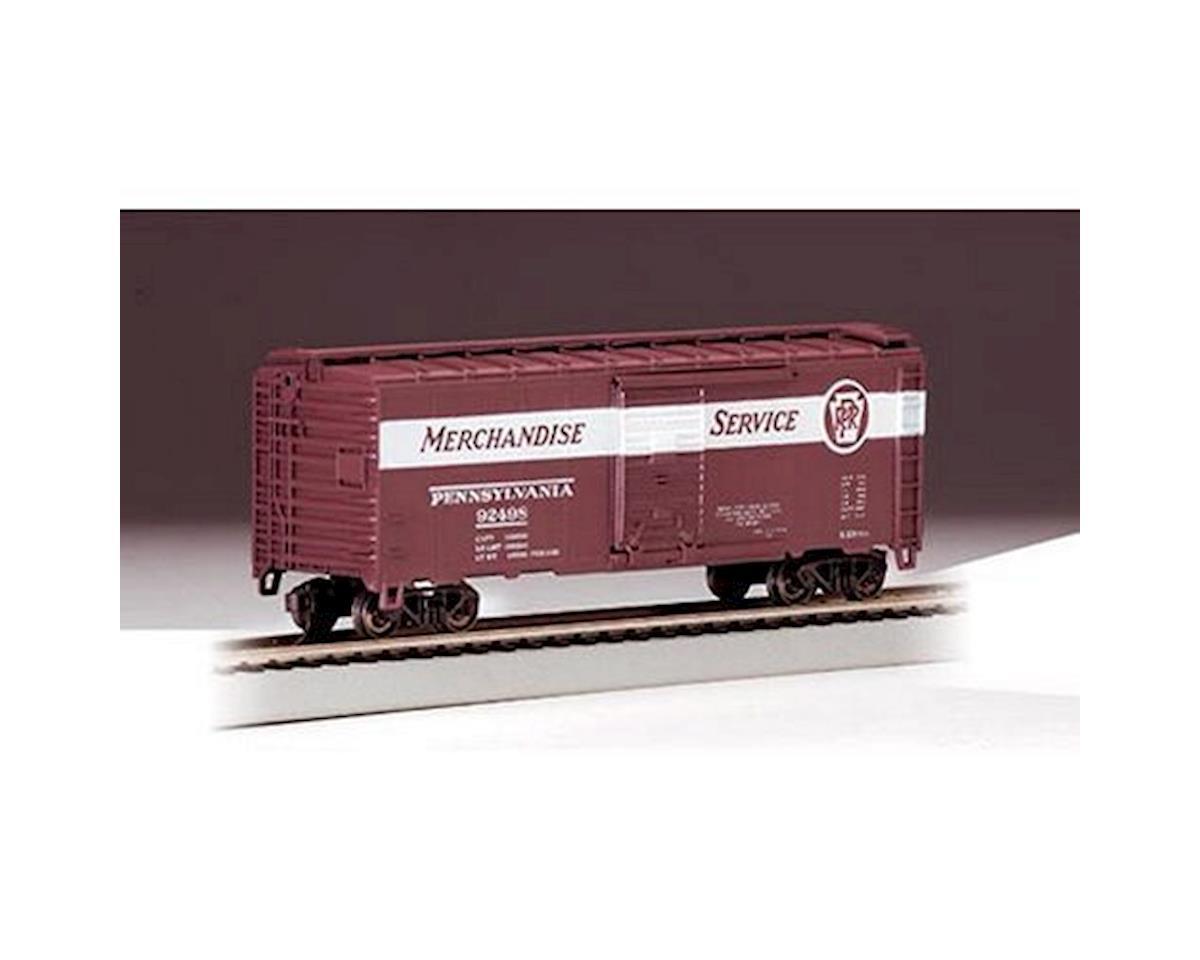 Bachmann HO RTR SS 40' Box, PRR/Merchandise