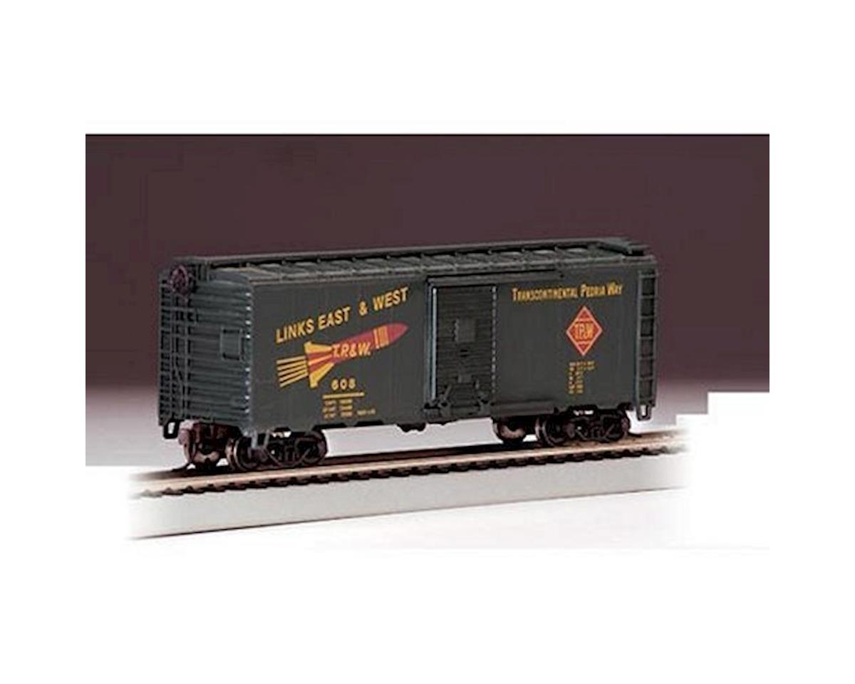 Bachmann HO RTR SS 40' Box, TP&W