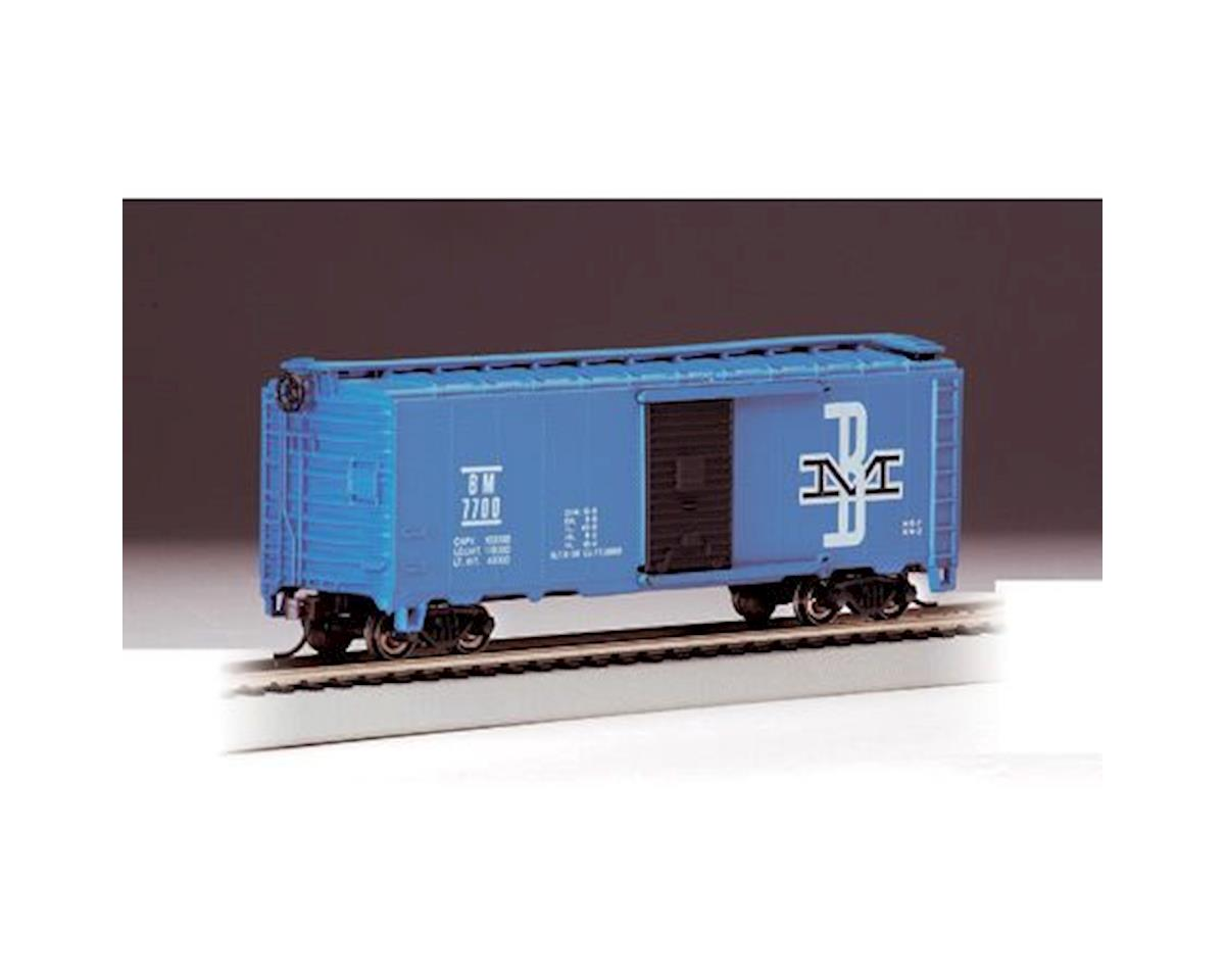HO RTR SS 40' Box, B&M by Bachmann