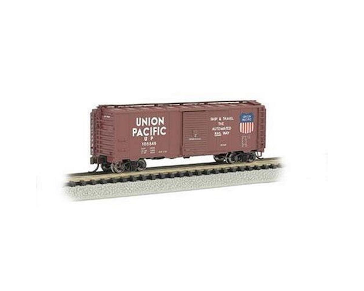 Bachmann N 40' Steel Box, UP/Automoted Railway