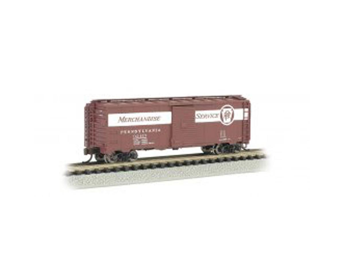 Bachmann N 40' Steel Box, PRR/Merchandise Service #92419
