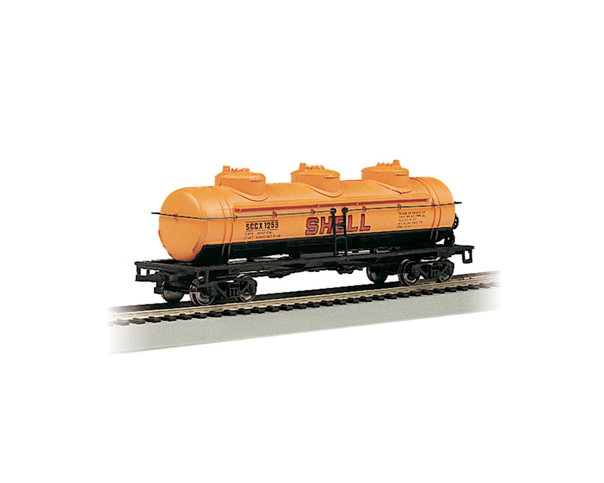 HO 40' 3-Dome Tank, Shell by Bachmann