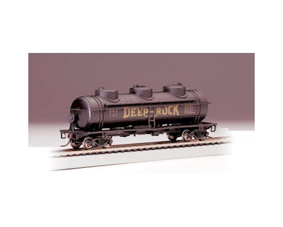Bachmann HO RTR SS 40' 3Dome Tank, Deep Rock