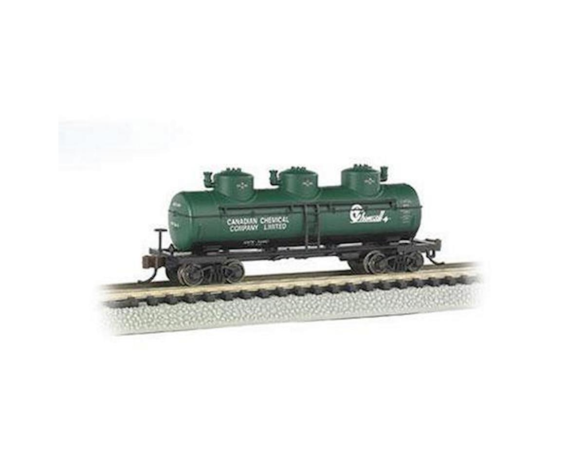 N 3-Dome Tank, Chemcell by Bachmann