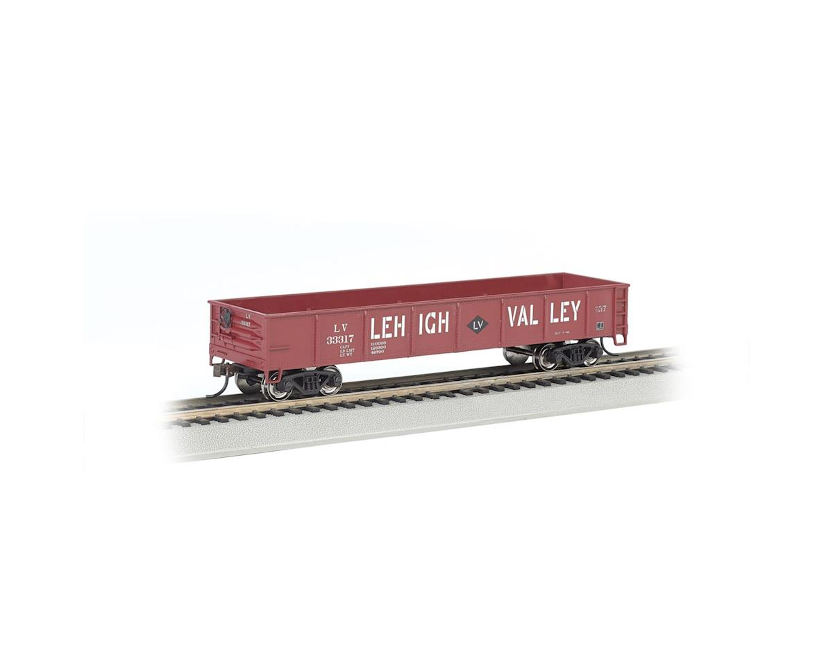 HO 40' Gondola, LV/Red by Bachmann