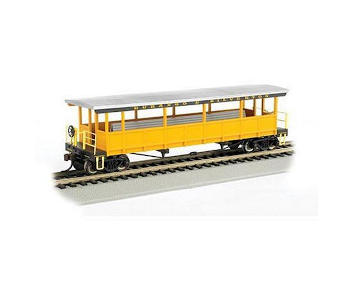 HO RTR Open Excursion Car, D&S by Bachmann