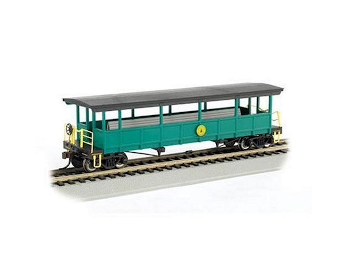 Bachmann HO RTR Open Excursion Car, Cass Scenic