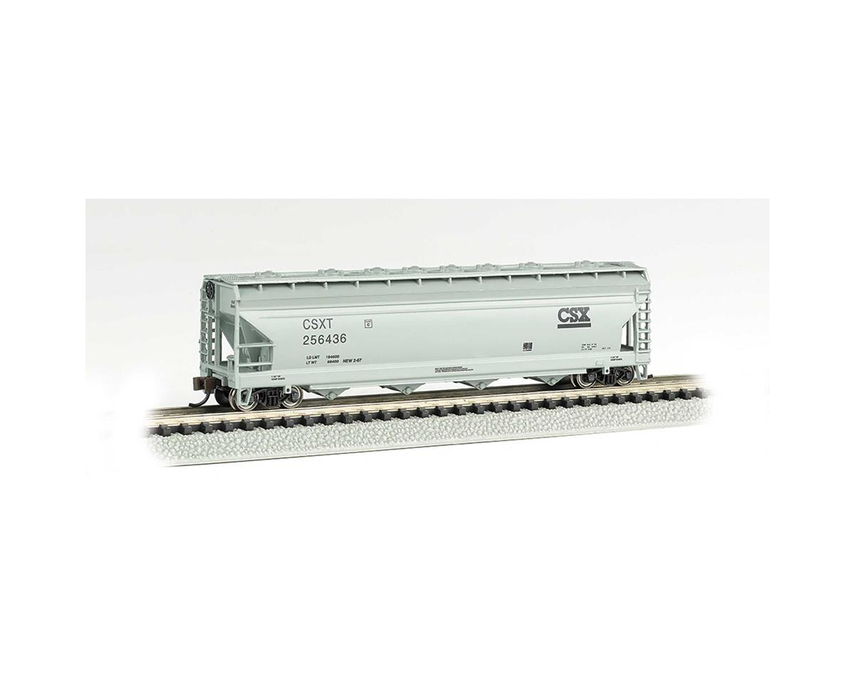 Bachmann N ACF 56' 4-Bay Center Flow Hopper,  CSX #256436