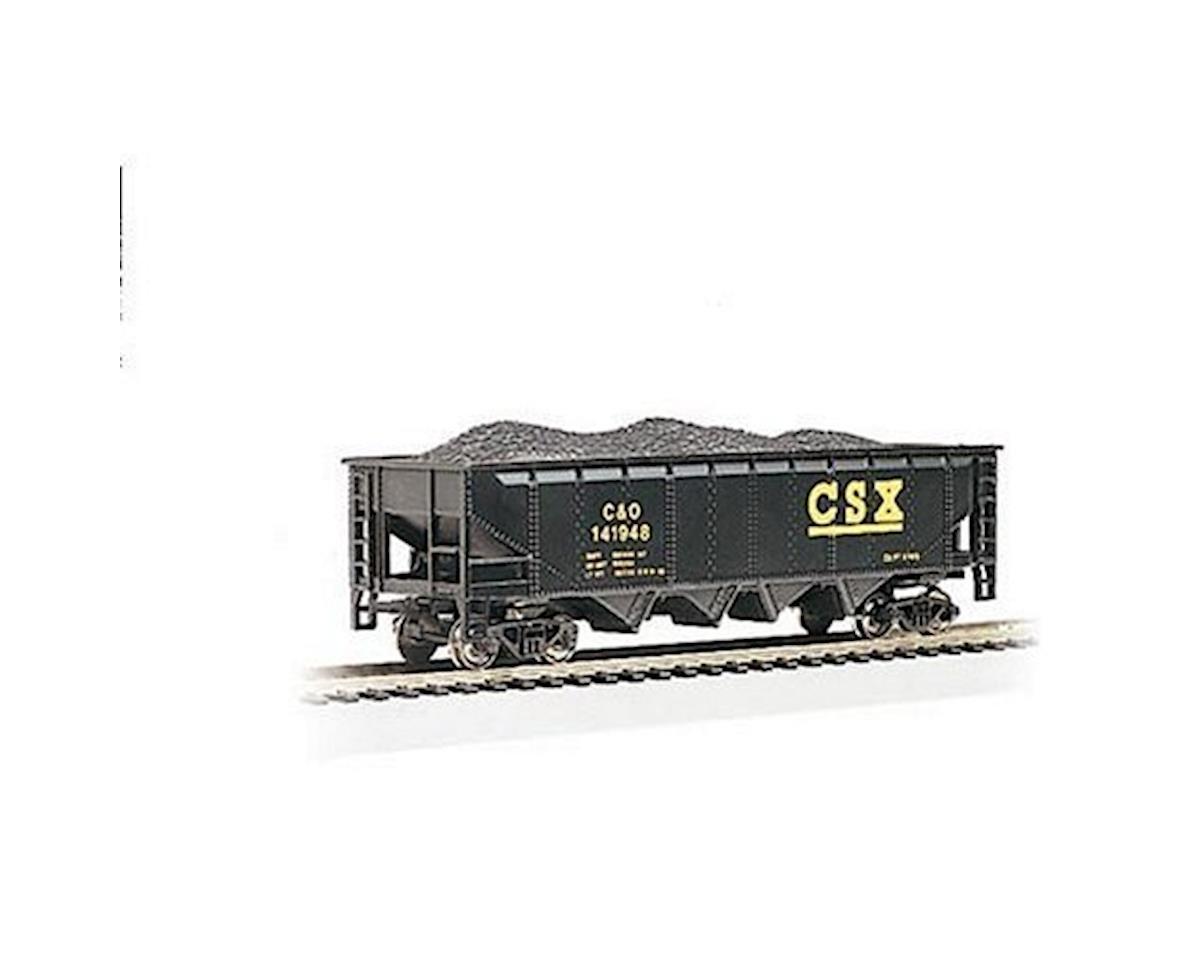 Bachmann HO RTR SS 40' Quad Hopper, CSX